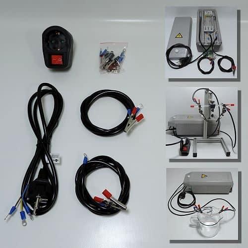 Mit diesem Kabelsatz können Sie Hochvolttrafos mit dem GSH-System verbinden