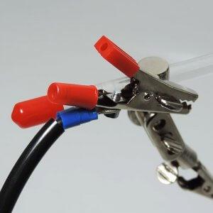 Kabelsatz Krokodilklemmen Anschluss am GSH-System