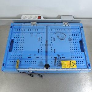 Schutzbox für Hochvolttrafo - zusammengefaltet
