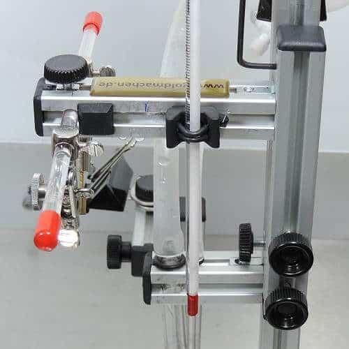 GSH-System Thermometer - Befestigung - Seitenansicht
