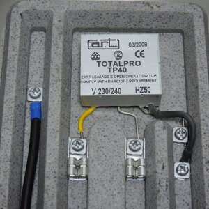 der Totalpro schaltet den Trafo bei Überhitzung ab