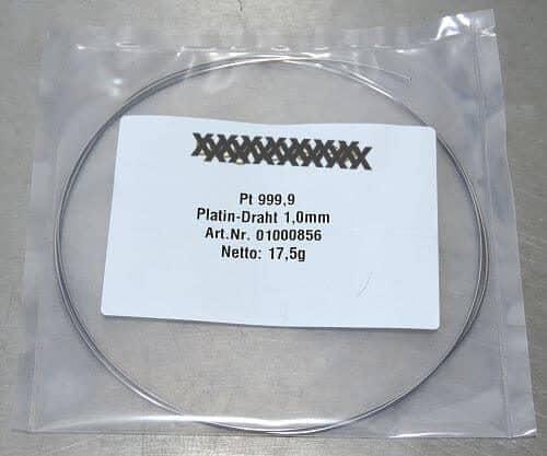 kolloidales Platin mit Platinelektroden herstellen