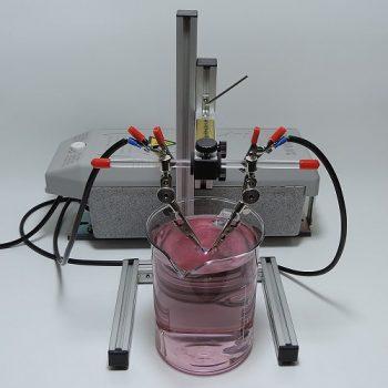 kolloidales Gold herstellen mit Trafo im Hochvolt-Plasma-Verfahren