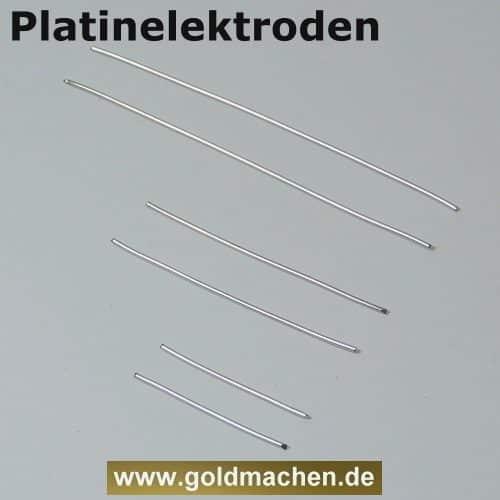 Platinelektroden zum kolloidales Platin herstellen