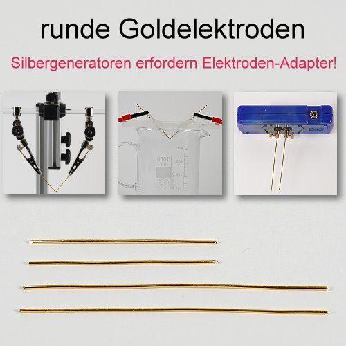 Goldelektroden rund - kolloidales Gold herstellen