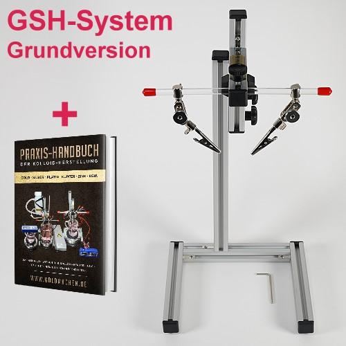 GSH-System Basic zur Kolloidherstellung im Hochvolt-Plasma-Verfahren