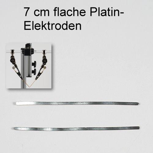 Platinelektroden flach - kolloidales Platin herstellen