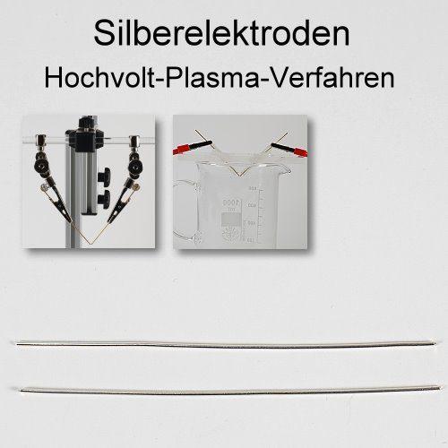 Silberelektroden - kolloidales Silber herstellen im Hochvolt-Plasma-Verfahren